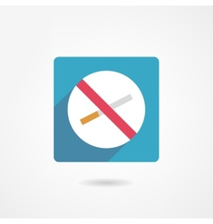 No smoking icon vector
