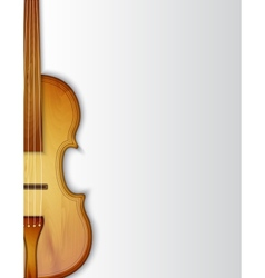 Background with violin vector