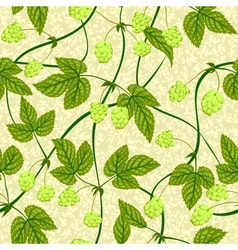 Humulus seamless background vector
