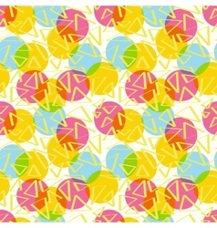 Pattern abstract color with circles vector