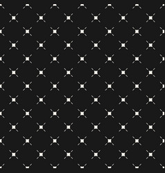 minimalist seamless pattern with thin small lines vector image