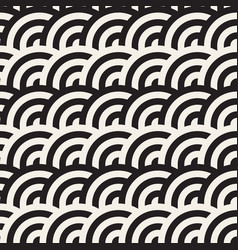 seamless geometric pattern abstract stripy vector image vector image