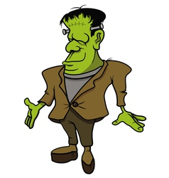 frankenstein monster vector image
