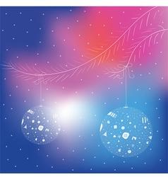 mary christmas blur vector image