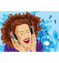sing star vector image vector image
