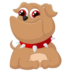 Cartoon adorable dog vector