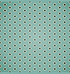 seamless geometric pattern in retro colors vector image