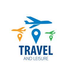 Travel logo vector