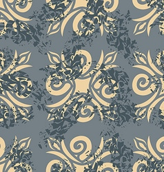 Vintage seamless pattern Old Royal ornament Retro vector image