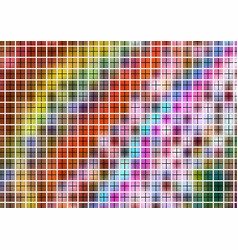 colorful pattern with grid vector image vector image
