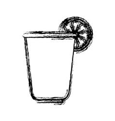 Lemonade drink icon vector