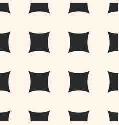 simple geometric seamless pattern with big squares vector image