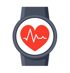 smartwatch icon vector image vector image