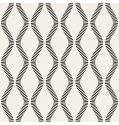 Seamless black and white vertical stripy vector