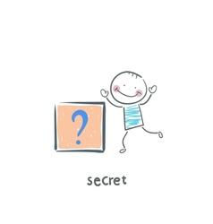 secret vector image
