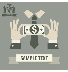Business money concept vector