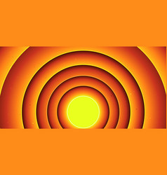 abstract cartoon circles background vector image