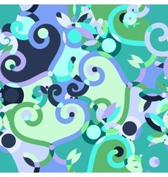 Abstract doodle seamless background vector