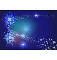 Abstract stars vector