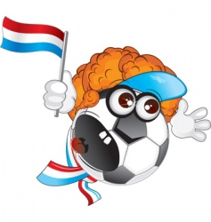 holland cartoon vector image