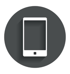 Smartphone sign icon support symbol vector