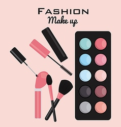 Fashion make up vector