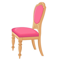 antique chair vector image