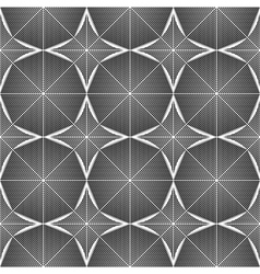 Design seamless monochrome octagon pattern vector
