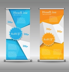 Golf cup post card set template banners vector