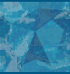 blue points texture vector image vector image