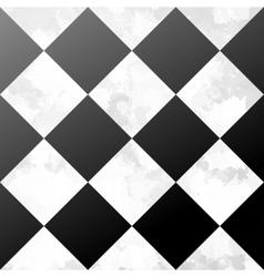 Ceramic chessboard floor vector