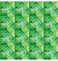 Green square background pattern vector