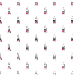 shopping bag black friday sale pattern vector image