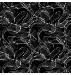 Smoke seamless pattern vector image vector image