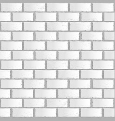 white old gradient brick seamless vector image
