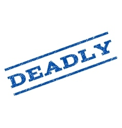 Deadly watermark stamp vector