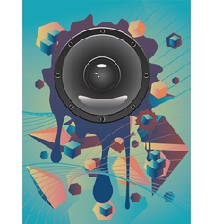 Abstract audio speaker vector