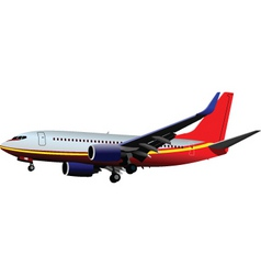 Airplane flight vector