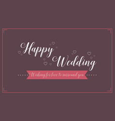 Collection background wedding card style vector