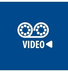 Logo camcorder vector