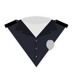 policeman icon vector image vector image
