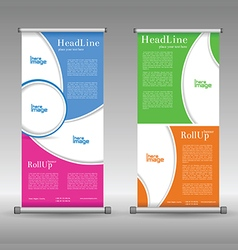 Fitness culb business card set banners vector