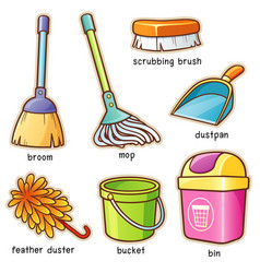 Cleaning supplier vocabulary vector
