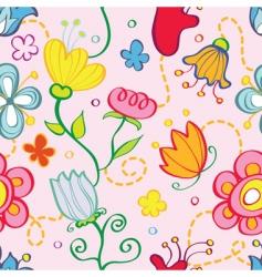 pattern floral vector image