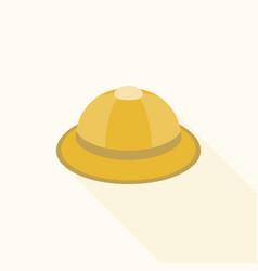 Safari hat icon vector