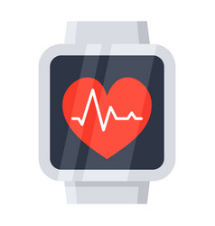 Smartwatch icon vector