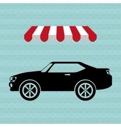 Car sale design vector