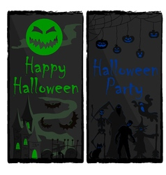 Halloween-banners-two vector