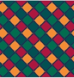 Abstract geometric pattern from rhombus vector