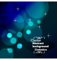 Abstract magic background vector image vector image
